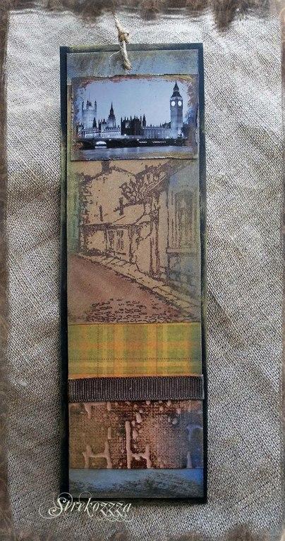"""Закладки для книг ручной работы. Ярмарка Мастеров - ручная работа. Купить Закладка из коллекции  """"Шерлок и Лондон"""" (№ 5). Handmade."""
