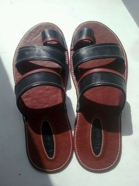 Обувь ручной работы. Ярмарка Мастеров - ручная работа. Купить Сандали. Handmade. Сандали мужские, тапки на заказ, нитки