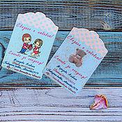 Дизайн и реклама handmade. Livemaster - original item Tags - business cards