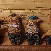Куклы и игрушки ручной работы. Ярмарка Мастеров - ручная работа Кофейные позитивчики. Handmade.
