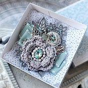 """Украшения ручной работы. Ярмарка Мастеров - ручная работа Брошь """"Crystal Eye"""". Handmade."""