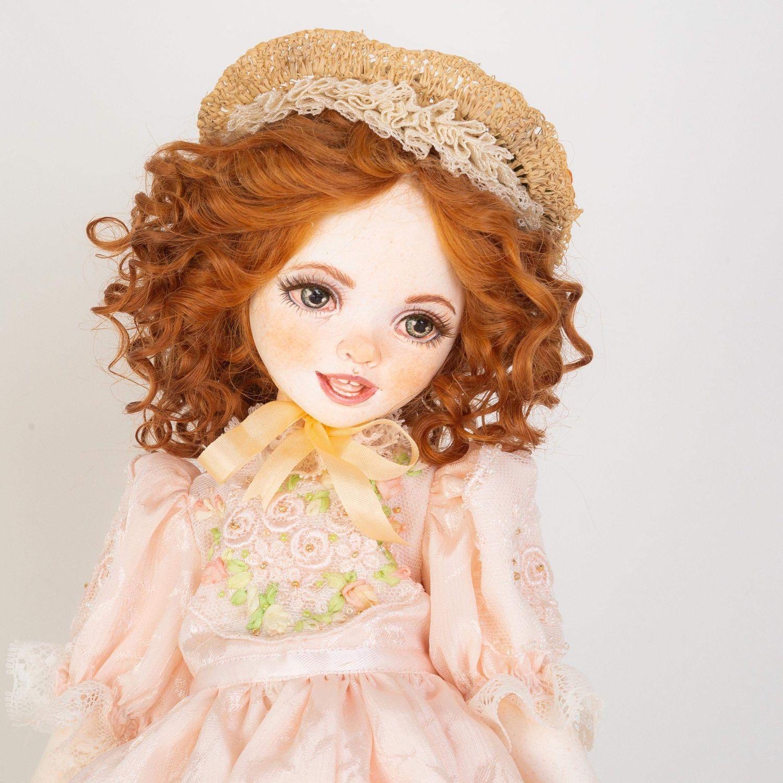 Коллекционные куклы ручной работы. Ярмарка Мастеров - ручная работа. Купить Кукольная девочка Ириша. Handmade. Подарок, шерсть