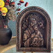 Иконы ручной работы. Ярмарка Мастеров - ручная работа Пресвятая Богородица Страстная (Одигитрия). Handmade.