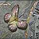"""Часы для дома ручной работы. Часы """"Цветок и мрамор"""". ALFactory (Альбина). Ярмарка Мастеров. Часы интерьерные, нужный подарок"""