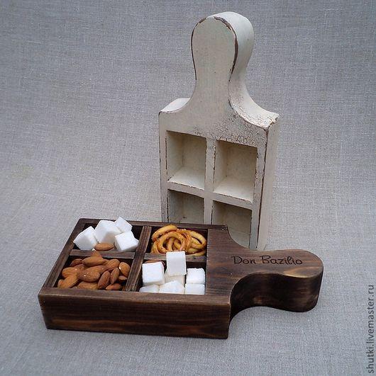 Деревянная сахарница. Кофетница. Сухарница. Магазин необычных подарков.