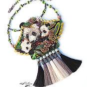 Украшения ручной работы. Ярмарка Мастеров - ручная работа Японская панда Раухин с детками в 3D изображении: A family.... Handmade.