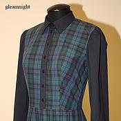 Одежда handmade. Livemaster - original item Plaid dress. Handmade.