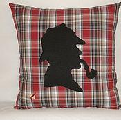 """Подушки ручной работы. Ярмарка Мастеров - ручная работа Подушка """"Шерлок"""". Handmade."""