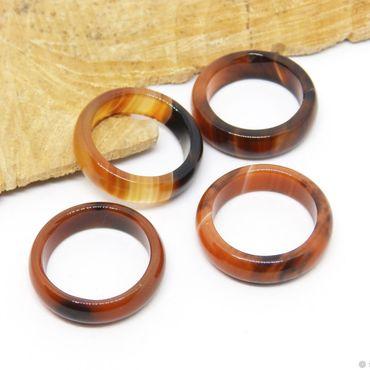 Decorations handmade. Livemaster - original item Ring of agate17.5 R-R Sunsets of Africa. Handmade.