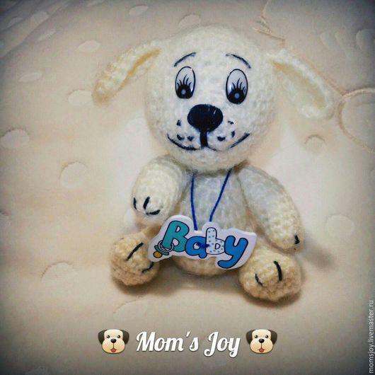 Собачка ручной работы. Пёсик от Mom`s Joy. Ярмарка Мастеров.