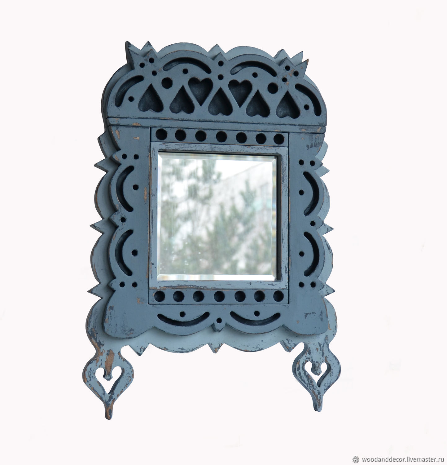 Carved frame-casing in Russian style, Mirror, Ufa,  Фото №1