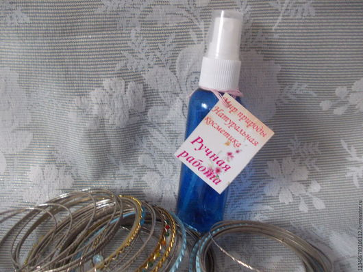Дезодоранты ручной работы. Ярмарка Мастеров - ручная работа. Купить дезодорант-спрй. Handmade. Белый, прозрачный, квасы гидролат гиацинта