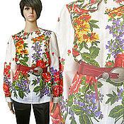 """Одежда ручной работы. Ярмарка Мастеров - ручная работа Рубаха """"Разноцветье"""". Handmade."""