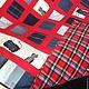 """Текстиль, ковры ручной работы. Заказать ,,Виват, Деним! """". Светлана  (ethnik bags). Ярмарка Мастеров. Джинсовый плед"""