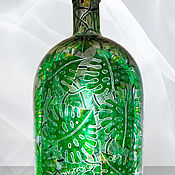 Посуда handmade. Livemaster - original item A bottle of vintage Monstera, 3 liters. Handmade.