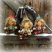 Куклы и пупсы ручной работы. Ярмарка Мастеров - ручная работа Волшебство на Рождество. Handmade.