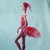 Куклы и игрушки ручной работы. Ярмарка Мастеров - ручная работа Леди Фламинго. Handmade.