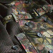 """Одежда ручной работы. Ярмарка Мастеров - ручная работа Тренч """"Долина бабочек"""".. Handmade."""