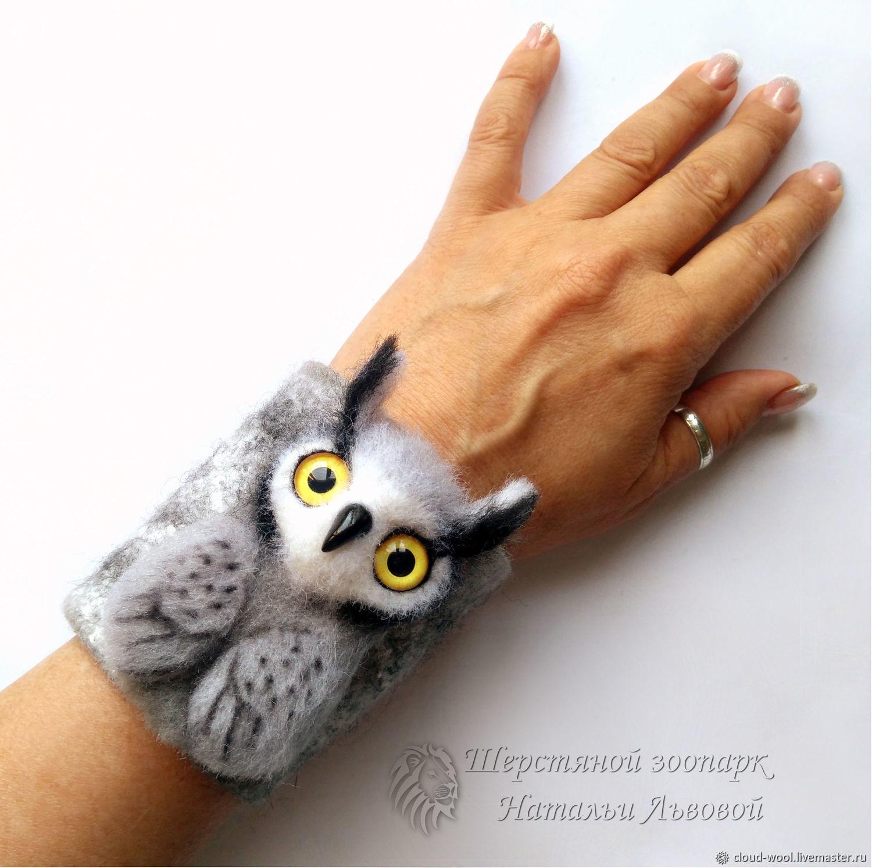 Owl bracelet / owl – transformer (3in1) – bracelet, brooch, pendant, Bead bracelet, Sochi,  Фото №1