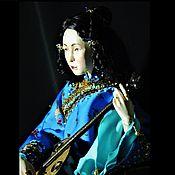 Куклы и игрушки handmade. Livemaster - original item Jointed doll: Yulan. Handmade.