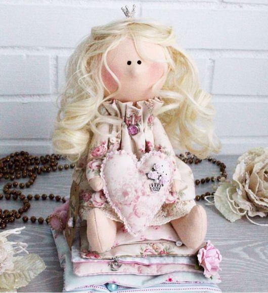 Куклы Тильды ручной работы. Ярмарка Мастеров - ручная работа. Купить Принцесса на горошине. Handmade. Тильда, принцесса