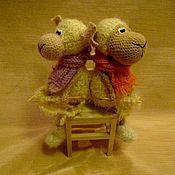 Куклы и игрушки ручной работы. Ярмарка Мастеров - ручная работа С хорошей ОВЦЫ и шерсти хоть на целый свитер. Handmade.