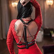 Аксессуары handmade. Livemaster - original item The sword belt with chains. Handmade.