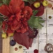 Картины и панно ручной работы. Ярмарка Мастеров - ручная работа Музыка осеннего леса. Handmade.