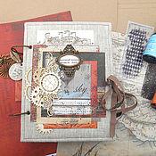 Канцелярские товары handmade. Livemaster - original item Cultural diary. Handmade.