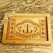 Для дома и интерьера handmade. Livemaster - original item Gingerbread Board Murmansk. Handmade.