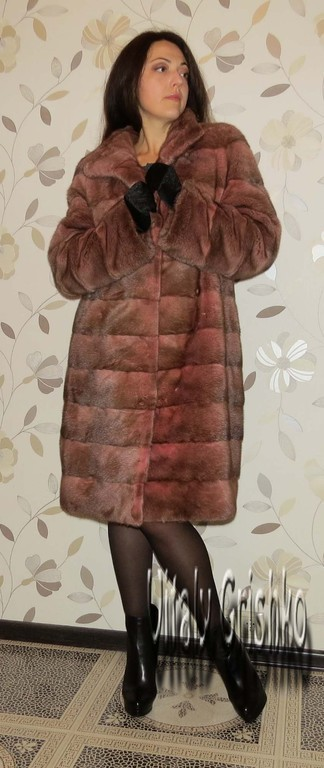 """Верхняя одежда ручной работы. Ярмарка Мастеров - ручная работа. Купить Шубка """"Розовая пастель"""". Handmade. Бледно-розовый, меховая"""