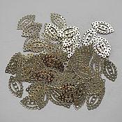 Материалы для творчества handmade. Livemaster - original item Sequins (motifs) France 13h8 mm.. Handmade.