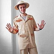 Одежда handmade. Livemaster - original item Paleontologist. Animator-actor  suit. Handmade.