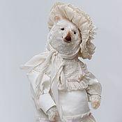 Куклы и игрушки ручной работы. Ярмарка Мастеров - ручная работа Бекки мишка тедди. Handmade.