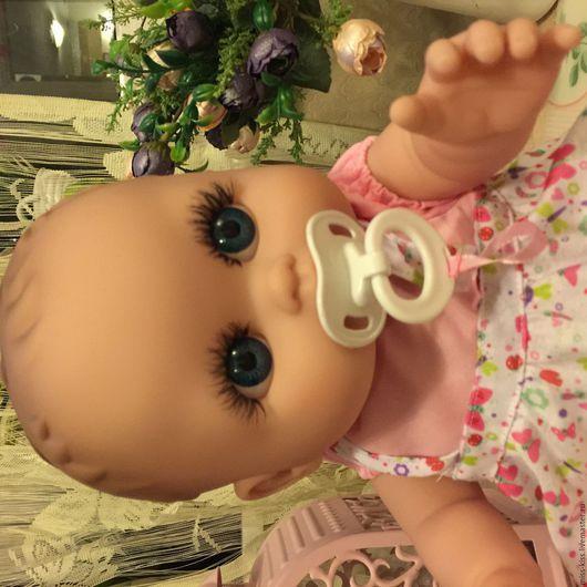 Куклы-младенцы и reborn ручной работы. Ярмарка Мастеров - ручная работа. Купить Малышка - Глазастик, 45 см, ООАК. Handmade.