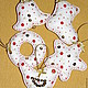 Новый год 2017 ручной работы. Набор елочных игрушек 10шт. Наталья Гаряева (motildadolls). Ярмарка Мастеров. Подарок, новогодние подарки