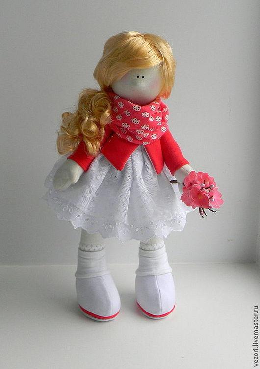 Куклы тыквоголовки ручной работы. Ярмарка Мастеров - ручная работа. Купить Emily. Handmade. Белый, оригинальный подарок, интерьер детской