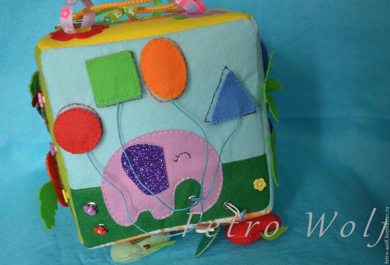 Развивающие кубики для детей своими руками из ткани выкройки 91