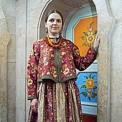 Русская женская одежда фото 55