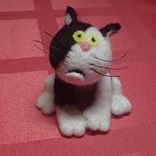 Куклы и игрушки handmade. Livemaster - original item Kuzia`s cat.. Handmade.