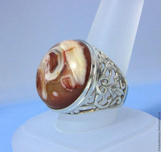Крупное кольцо с агатом купить. Агатовое кольцо купить. Серебряное кольцо купить. Агат в серебре купить. Непский агат купить. Магазин IrinaZelenaya-Ярмарка Мастеров.