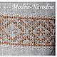 Льняная сорочка с ручной вышивкой Листопад. \r\nМодная одежда с ручной вышивкой. \r\nТворческое ателье Modne-Narodne.