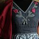 """Платья ручной работы. Ярмарка Мастеров - ручная работа. Купить Платье """"Льняная роза"""" по мотивам Кармен Бизе.... Handmade."""
