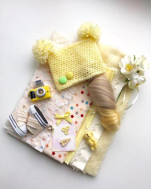 Одежда для кукол ручной работы. Ярмарка Мастеров - ручная работа. Купить Набор для создания куколки. Handmade. Набор для творчества