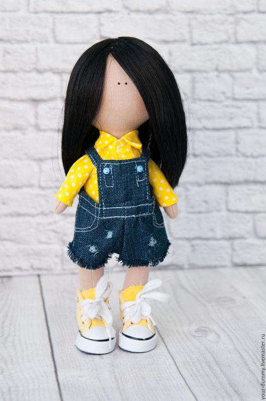 Коллекционные куклы ручной работы. Ярмарка Мастеров - ручная работа. Купить Марго. Handmade. Желтый, кукла в подарок, интерьерная игрушка