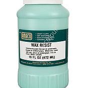 Материалы для творчества ручной работы. Ярмарка Мастеров - ручная работа Воск для резервирования WAX RESIST 1 пинта Amaco. Handmade.