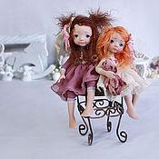 Куклы и игрушки ручной работы. Ярмарка Мастеров - ручная работа Две родные бусинки. Handmade.