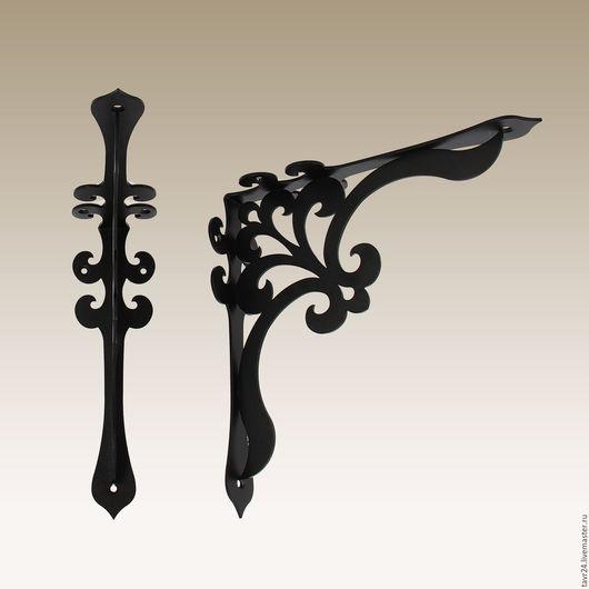 Кронштейн `Персия 250` черного цвета.