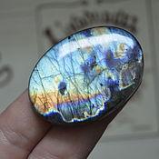 Материалы для творчества handmade. Livemaster - original item Labradorite. Cabochon 46 X 33 X 7. Handmade.