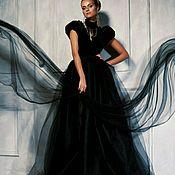 Одежда ручной работы. Ярмарка Мастеров - ручная работа Платье Чёрная Пантера. Handmade.
